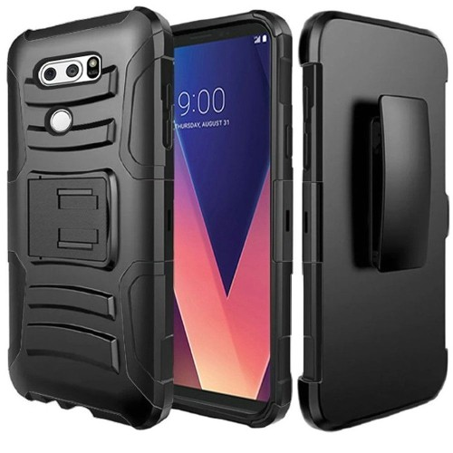Insten Holster Case for LG V30 - Black