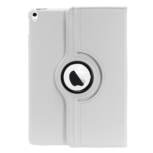 "Insten Book-Style Leather Fabric Case w/stand For Apple iPad Pro 10.5"" - White"