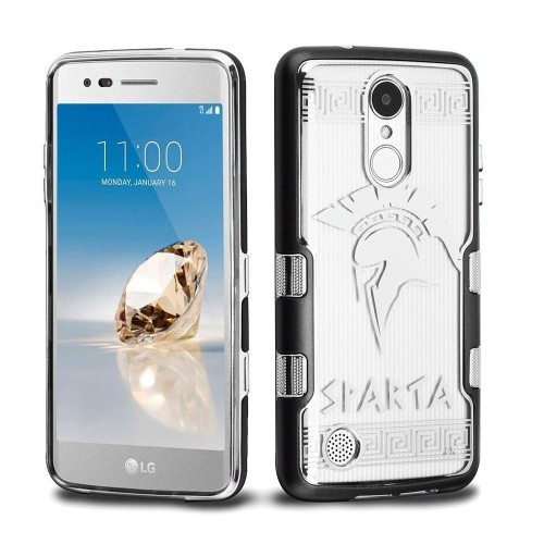 Insten Fitted Hard Shell Case for LG Aristo;Phoenix 3;Fortune;Lv3;K8;K4 - Silver