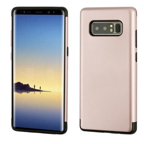 Insten Hard Hybrid Plastic TPU Cover Case For Samsung Galaxy Note 8 - Rose Gold