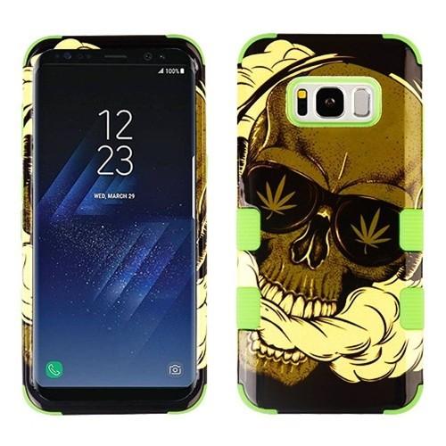 Insten Tuff Skull Hard Hybrid Plastic Silicone Case For Samsung Galaxy S8 - Multi-Color