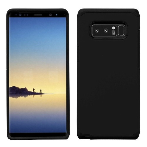 Insten Astronoot Hard Dual Layer Plastic TPU Cover Case For Samsung Galaxy Note 8 - Black
