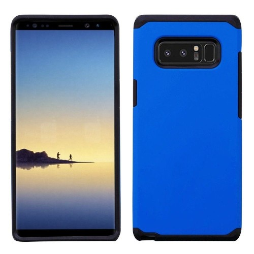 Insten Astronoot Hard Dual Layer Plastic TPU Case For Samsung Galaxy Note 8 - Blue/Black