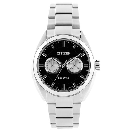Citizen Paradex 44mm Men's Dress Watch - Silver/Black