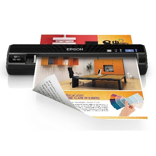 Epson WorkForce DS-40 Color Portable Scanner (B11B225201)