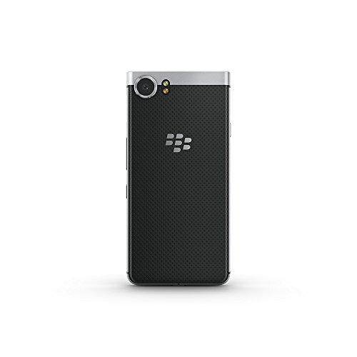 BlackBerry KEYone (Silver) Unlocked Android Smartphone 4G LTE, 32GB (Canadian Warranty)