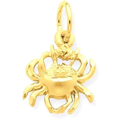 Icecarats 14k yellow gold cancer zodiac pendant charm necklace icecarats 14k yellow gold cancer zodiac pendant charm necklace necklaces best buy canada aloadofball Gallery