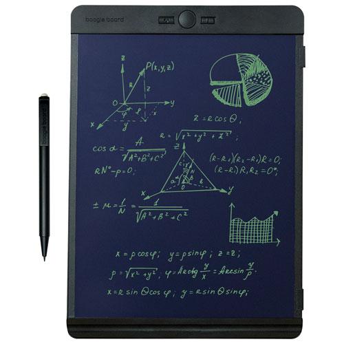Tablette d'écriture électronique à écran ACL de 8,5 po Blackboard de Boogie Board - Noir