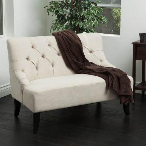 Naran Fabric Settee