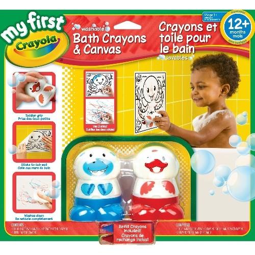 crayola my first wash bath crayons and canvas crayons pencils paints markers best buy canada - Crayola Bathroom Crayons