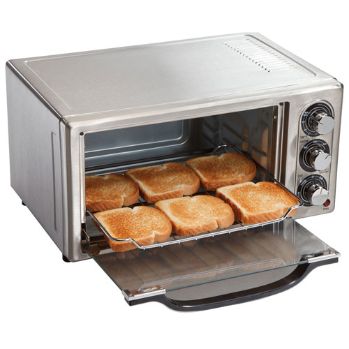 Hamilton Beach 6 Slice Toaster Oven 0 48 Cu Ft