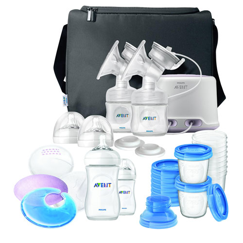 Phillips Avent Comfort Double Electric Breast Pump Set