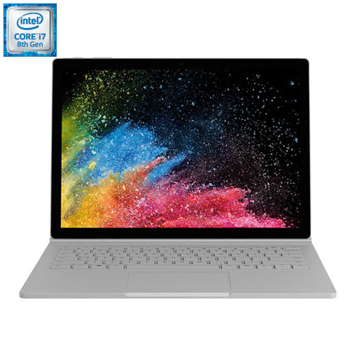 Portable 2-en-1 13,5 po Surface Book 2 de Microsoft (Core i7-8650U d'Intel/SSD 128 Go/RAM 16 Go)-AN