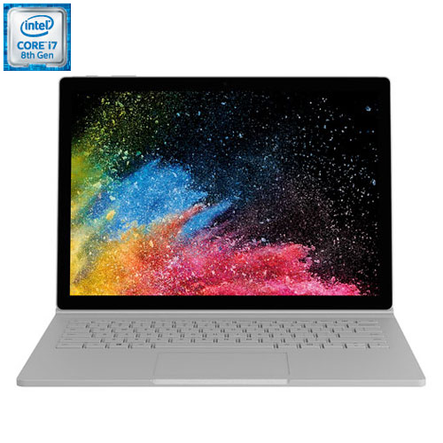 "Microsoft Surface Book 2 13.5"" 2-in-1 Laptop (Intel Core i7-8650U/ 1TB SSD/ 16GB RAM) - French"
