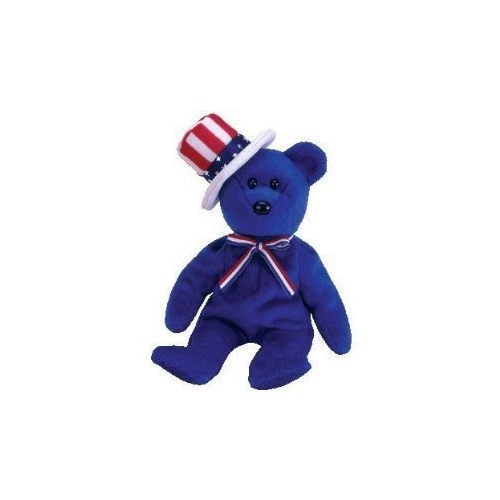 TY Beanie Baby - SAM the Bear (Blue Version)   Plush Toys - Best Buy Canada 7bf04cd2a16