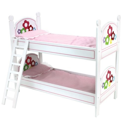 18 Inch Doll Bunk Bed Doll Bedding Ladder Doll Furniture For