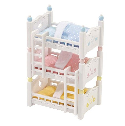 Calico Critters Triple Baby Bunk Beds Dolls Dollhouses Best