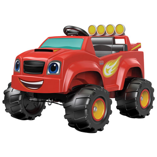 On wheels toys ride