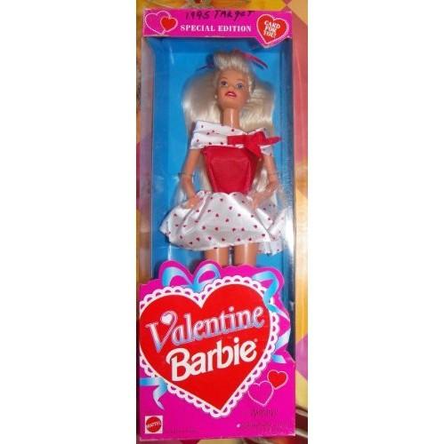 special edition valentine barbie doll 1995 by mattel