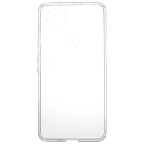 Blu Element Gel Skin Fitted Soft Shell Case for Google Pixel 2 XL - Clear