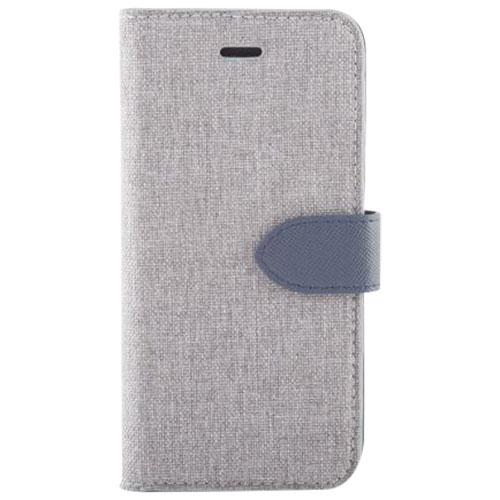 Blu Element Simpli Folio Case for Google Pixel 2 XL - Grey/Blue