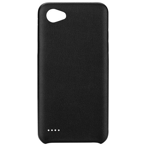 Blu Element Velvet Touch Fitted Soft Shell Case for LG V30 - Black