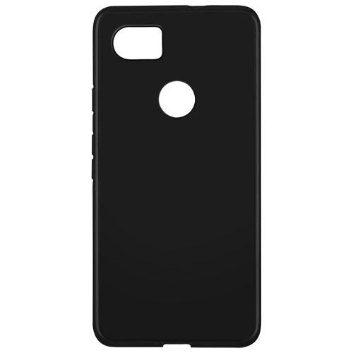 Blu Element Gel Skin Fitted Soft Shell Case for Google Pixel 2 XL - Black