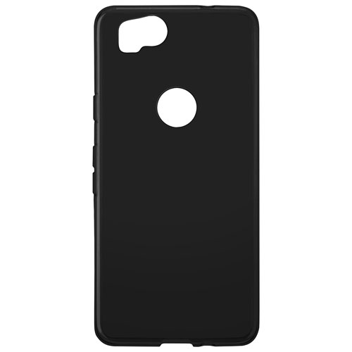 Blu Element Gel Skin Fitted Soft Shell Case for Google Pixel 2 - Black