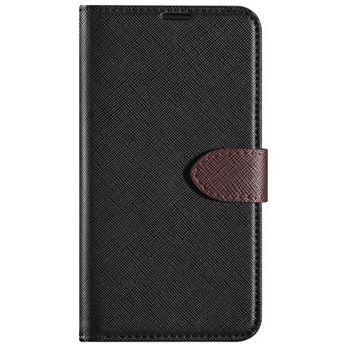 Étui folio Simpli de Blu Element pour V30 de LG - Noir - Brun