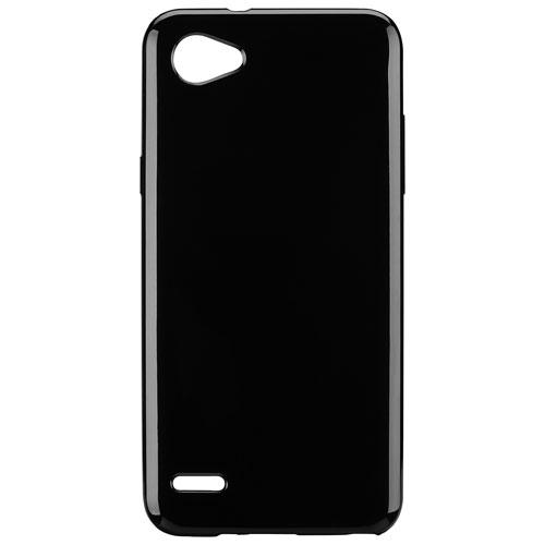 Étui souple ajusté Gel Skin de Blu Element pour Q6 de LG - Noir