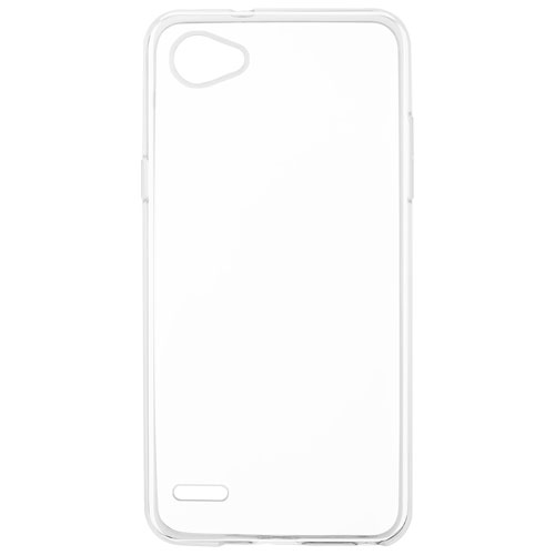 Blu Element Fitted Soft Shell Case for LG Q6 - Clear