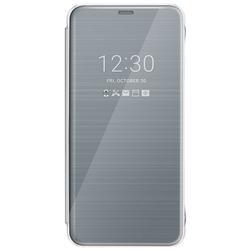 LG Quick Cover Folio Case for LG G6 - Platinum