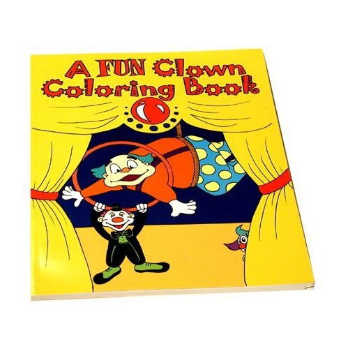 Clown Magic Coloring Book with \