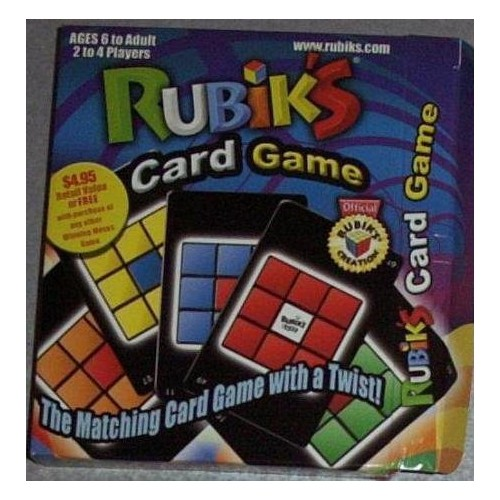 Puzzle Game Rubiks Card Game Puzzle