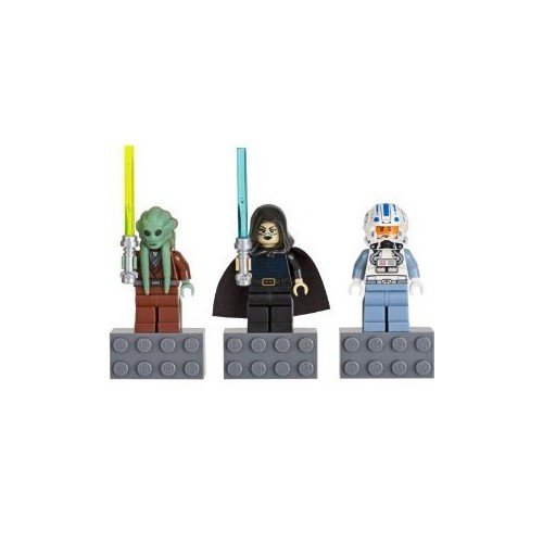 LEGO Star Wars Minifigure Magnet Set 852947 Kit Fisto, Bariss Offee ...