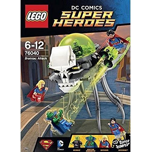 Lego Dc Super Heroes Brainiac Attack Set 76040 Best Buy Canada