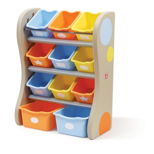 Step2 Fun Time Room Organizer Bins Tropical - Online Only