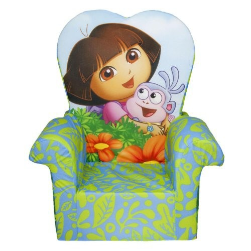 Marshmallow Children's Furniture - High Back Chair - Nickelodeon's Dora The Explorer
