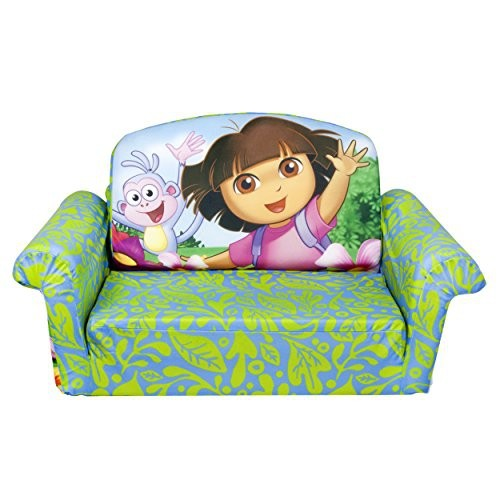 Marshmallow Furniture, Flip Open Sofa, Dora   Online Only