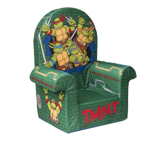 Marshmallow Furniture Teenage Mutant Ninja Turtles (Retro) Highback Chair