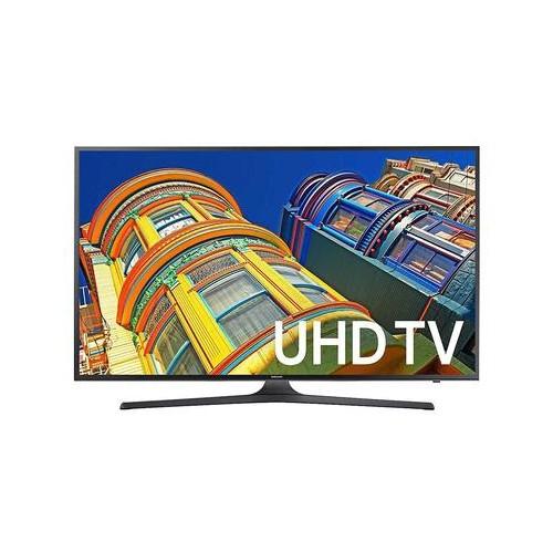 "SAMSUNG 40"" 4K ULTRA HD HDR LED TIZEN SMART TV (UN40KU6300 / UN40KU630D )-REFURBISHED"