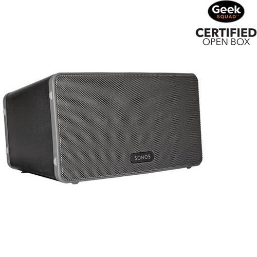 Sonos PLAY:3 Wireless Speaker - Black - Open Box
