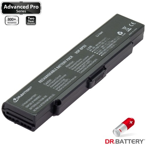 Dr. Battery - Canadian Brand Replacement Laptop Battery (Samsung SDI 5200mAh) - Sony VGP-BPS2C - Free Shipping across Canada