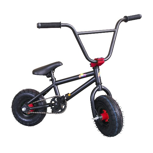 Kobe Mini Bmx Bike Black Red 10 Stunt Bicycle Mini Adults