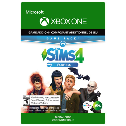 The Sims 4: Vampires Expansion Pack - Digital Download