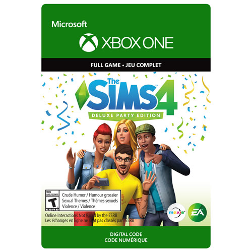 The Sims 4 Deluxe Party Edition Xbox One Digital Download