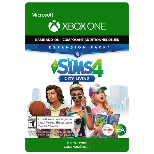The Sims 4 City Living Expansion Pack Xbox One Digital Download
