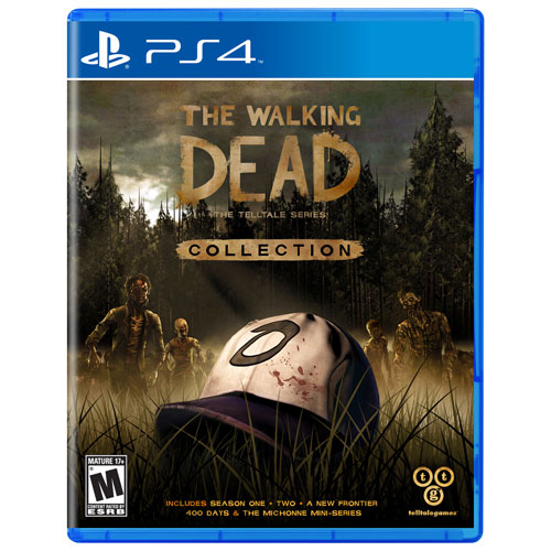 the walking dead the telltale series collection ps4. Black Bedroom Furniture Sets. Home Design Ideas