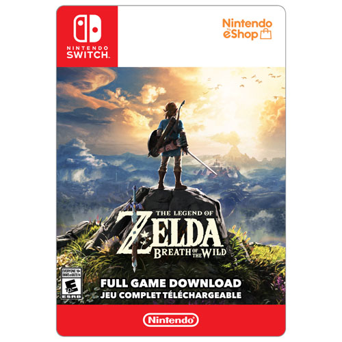 The Legend of Zelda: Breath of the Wild (Switch) - Digital Download