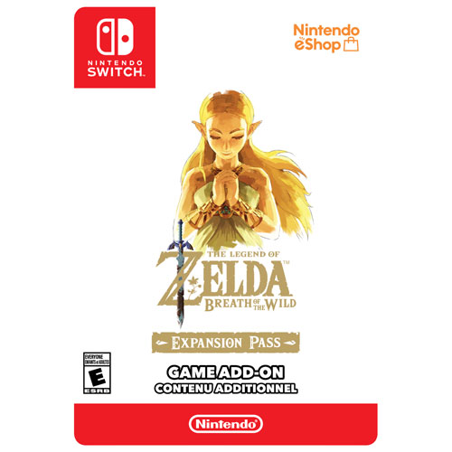 The Legend of Zelda: Abonnement d'extension Breath of the Wild (Switch) - Contenu téléchargeable
